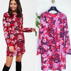 VERO MODA x ASOS New Red Floral Mini Fall Dress M